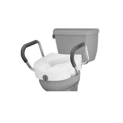 Stupendous Nova Raised Toilet Seat W Wide Arms Mercy Medical Cjindustries Chair Design For Home Cjindustriesco