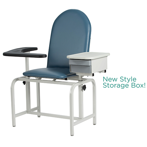 Fantastic Phlebotomy Chair With Storage Drawer Mercy Medical Theyellowbook Wood Chair Design Ideas Theyellowbookinfo
